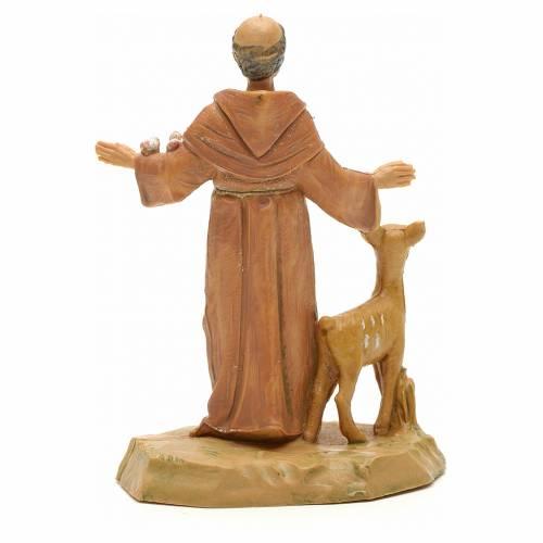 Statue St François et les animaux 7 cm Fontanini s2