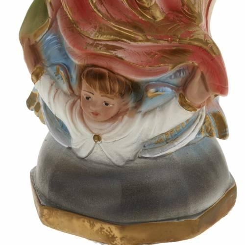 Statue Vierge de Guadalupe plâtre 40 cm s3