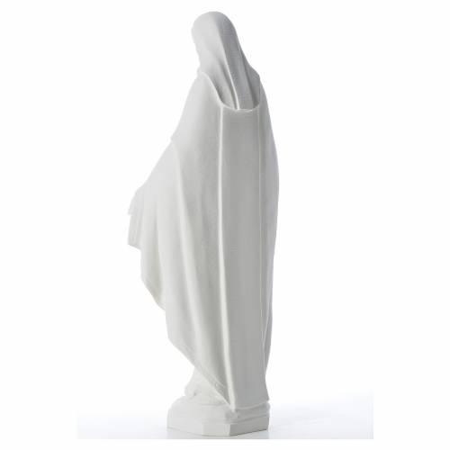 Statue Vierge Miraculeuse poudre de marbre 62 cm s3