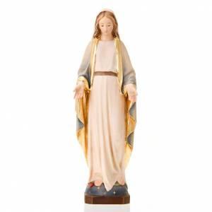 Statue in legno dipinto: Maria Immacolata
