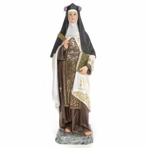 Ste Thérèse de Jésus 60 cm pate bois s1