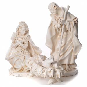 STOCK Nativité 125 cm résine Fontanini fin. Sienne s1