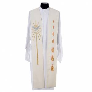 Stole, 80% polyester 20% wool with Holy Spirit decoration s4