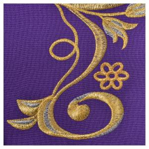 Stole, 80% polyester 20% wool with IHS decoration s5
