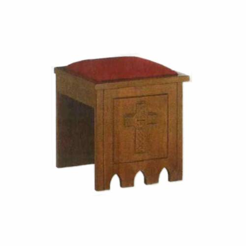Stool in gothic style, 49x49x49 s1