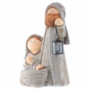 Stylised Nativity in resin measuring 60cm s2
