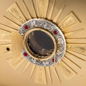 Tabernacle d'autel en laiton, fenêtre pour adoration s5
