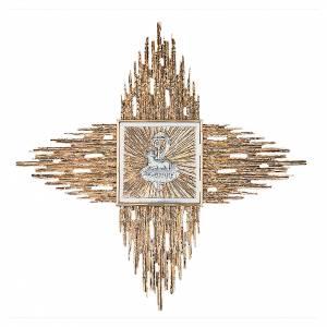 Tabernacolo da parete ottone fuso oro Agnus Dei s1