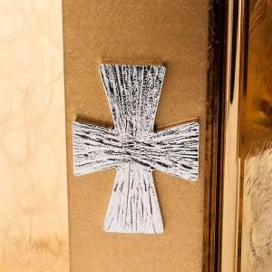 Sagrario latón Cruz exposición Santisimo s6