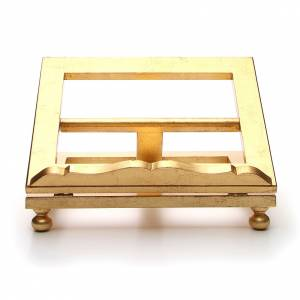 Book stands: Table lectern in gold leaf 35x40cm