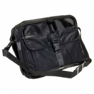 Messkoffer: Tasche aus Leder und Bast