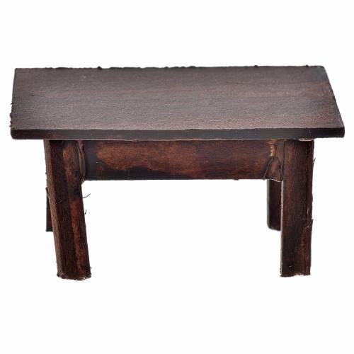 Tavolo 3,5x7,5x4 cm presepe napoletano s2
