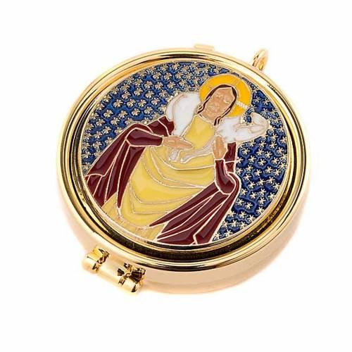 Teca eucaristica Buon Pastore s1