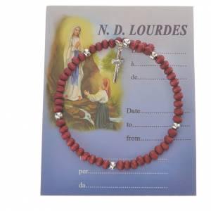 Ten-beads Rosary Bracelet perfumed wood 4mm s1