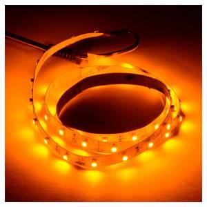 Controladores para el Belén: Tira de LED Power 'PS' 45 LED 0.8 x 75 cm. amarillo Frial Power
