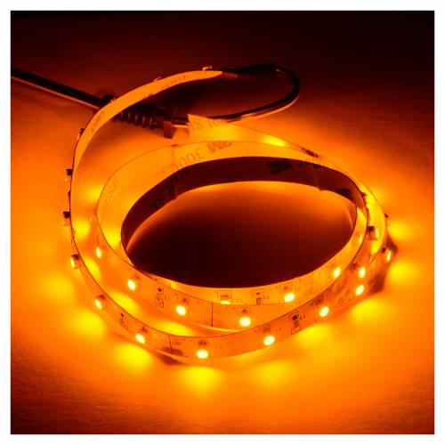 Tira de LED Power 'PS' 45 LED 0.8 x 75 cm. amarillo Frial Power s2