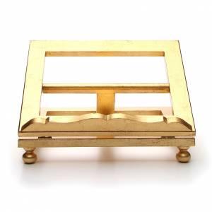 Tischpulte: Tischpult aus Holz mit Blattgold 35x40 cm