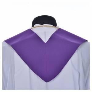 Étole en polyester avec croix s7