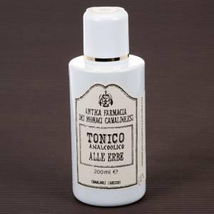 Productos curativos lenitivos: Tónico Analcohólico de Hierbas