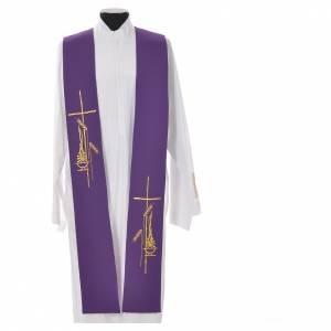 Tristola 100% poliestere croce lampada spighe s3