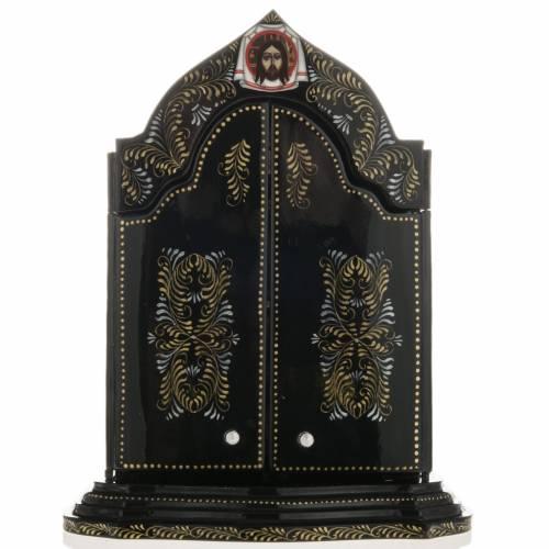 Trittico russo Mstjora Madonna della Tenerezza 17,5x21 s7