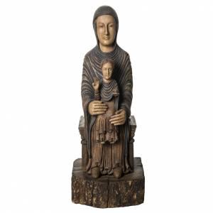 Trone de la sagesse 72 cm bois Bethléem s1