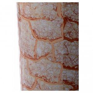 Urna cineraria ceramica con pomelli bianco oro s4