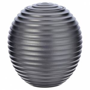 Urna cineraria porcelana esmaltada mod. Plata Tecno s1