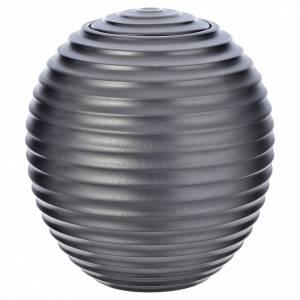 Urna cineraria porcellana smaltata mod. Argento Tecno s1