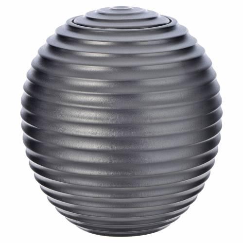 Urne cinéraire porcelaine mod. Argent Tecno s1