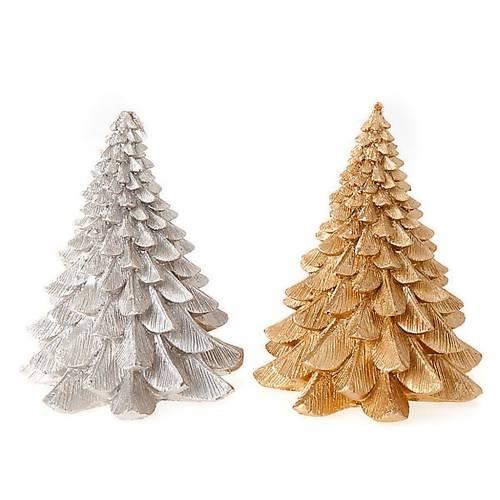 Vela navideña árbol 1