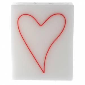 Vela Rectangular Corazón s1