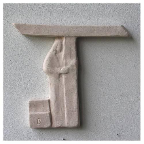 Vía Crucis cuadros irregulares 20x294 cm arcilla Centro Ave s6