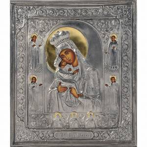 Vierge de Poczajevsk, argent opaque s1