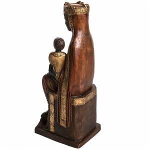 Vierge de Solsona 54 cm pierre dorée Bethléem s4