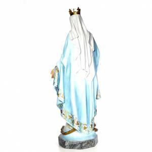 Vierge Miraculeuse 140 cm pâte bois élégante s3