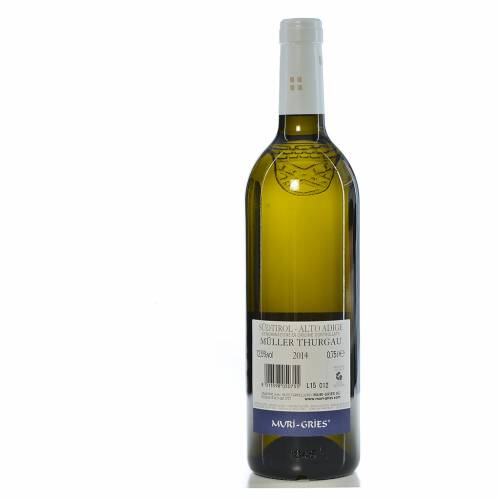 Vino Muller Thurgau DOC 2014 Abbazia Muri Gries 750 ml 2