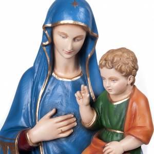 Virgen consolata 80 cm en fibra de vidrio s2