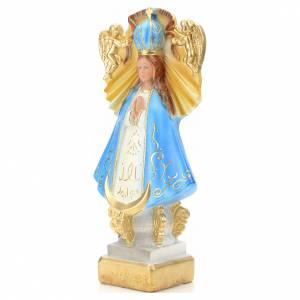Imágenes de yeso: Virgen de San Juan de los Lagos 30 cm yeso