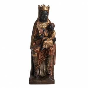 Virgen de Solsona (Cataluña) piedra dorada 54cm Bethleem s1