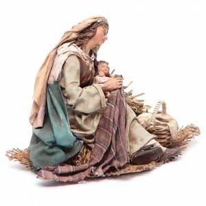 Virgen María con Niño en brazos 18 cm Angela Tripi s3