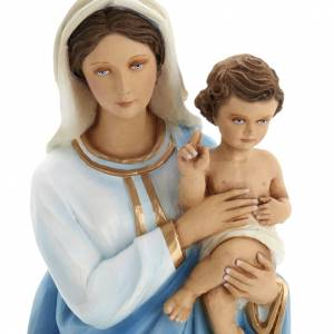 Fiberglass statues: Virigin Mary and infant Jesus,  fiberglass statue, 60 cm