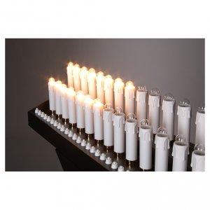 Votivo elettrico 31 candele a 24Vcc pulsanti lampadine s4