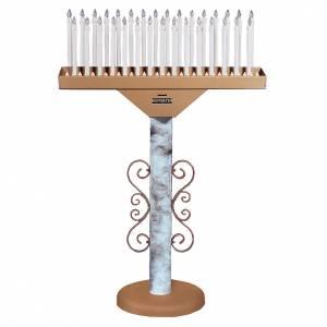 Votivo elettronico 31 candele lampade 12 V trasformatore s1