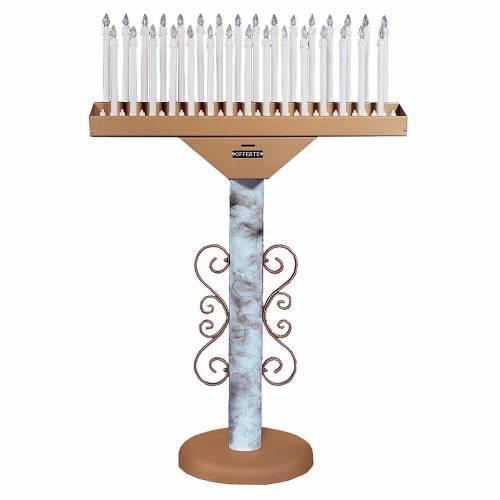 Votivo elettronico 31 candele lampade 12 V trasformatore 1