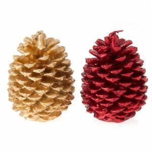 Weihnachtskerzen: Weihnachtskerze Zapfen