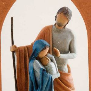 Willow Tree Card - Christmas Story (sacra famiglia) s2