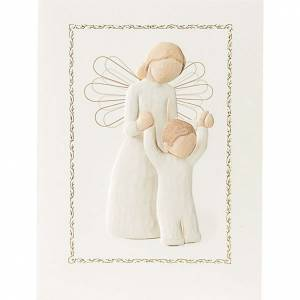 Greeting cards: Willow Tree Card - Guardian Angel 14x10,5