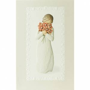 Tarjetas de Felicitaciones: Willow Tree Card - Surrounded by love (rodeado por amor) 21x14