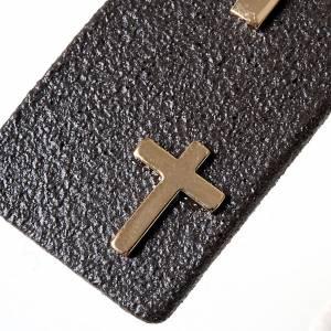 Zawieszki krzyż ceramika: Wisiorek krzyż gres